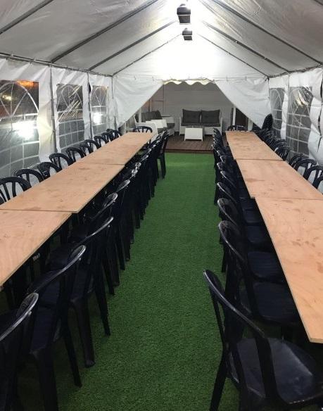 אוהל אבלים ל 100 איש באתר אוהלי אריאל